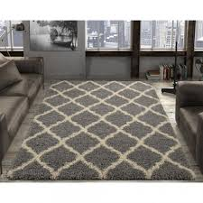 photo 2 of 7 beautiful beige area rugs home depot 2 ottomanson ultimate gy contemporary moroccan trellis design grey