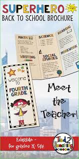 Teacher Brochure Example Brochure For School Project Inspirational Examples First Day School