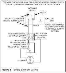water heater 240v wiring diagram 240v Water Heater Wiring Diagram For 9000 Watt Dual Element