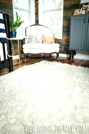 faux animal rug you can make this fur genius