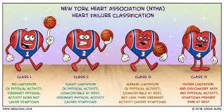 Nyha Classification Chart Nyha Classification Cardiovascular Nursing Cardiac
