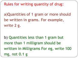 Prescription Of Drugs To Patient