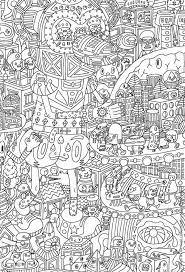 Small Picture 251 best Library Printables images on Pinterest Adult coloring