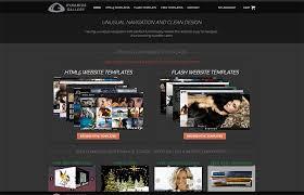 Free Flash Web Template Advanced Free Website Templates Clean Design Unusual