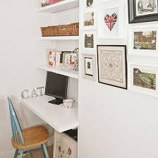 White Alcove Home Office | Home Decorating Ideal  Housetohome.co. I