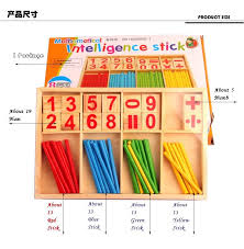 Game With Wooden Sticks Hot Sell High Quality Montessori Wooden Number Math Game 74