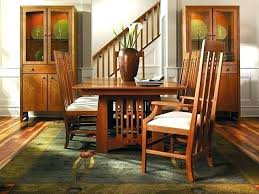 stickley mission chair stickley dining chairs dining room craftsman style dining table mission stickley furniture dining