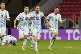 Argentina into Copa America final after goalie Martinez heroics