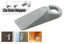 door stopper wedge. 2X Door Stop Large Rubber Stopper Wedge Jam Catcher Block Home Office