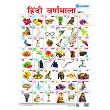 Varnmala In Hindi Chart Buy Edu Hub Hindi Varnmala Chart Online At Raajkart Com