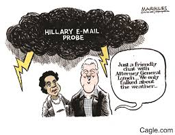 bill clinton and attorney general lynch