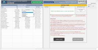 Automatic Organizational Chart Generator Advanced Version