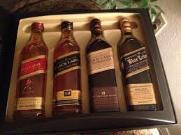 55 dollar johnnie walker gift set the 200 ml blue label bottle alone is worth 57 bucks a 1 75 l of blue label is 279 00 quite a steal to try some top