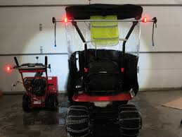 upgrading and adding extra lights to riding mower practical click image for larger version snowblower bike lights upgrade jpg views 2357