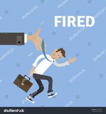 Getting Fired Isometric Flat Vector Illustration Stock Vector