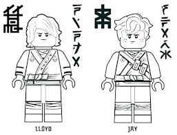 Lego Ninjago Kai Coloring Pages Acnee