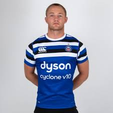 canterbury bath 2018 19 home s s players rugby test shirt
