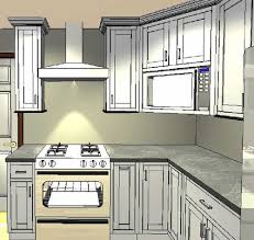 ... design using a corner cabinet. We were originally planning to leave the  microwave on top of the counter by our sink area where we have always had  it.