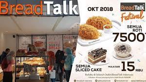Promo Breadtalk Terbaru Tanggal 1 3 Oktober Semua Roti Dihargai