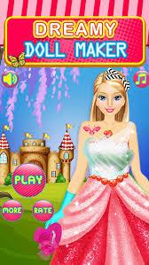 dreamy fashion doll party dress up make games screenshot 4