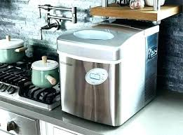 ge refrigerator with nugget ice maker opal countertop sonic home improvement excellent pellet make