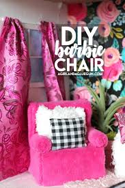 diy barbie furniture. But I Totally Don\u0027t Love Having To Buy Barbie Furniture At The Store\u2026hello!  Expensive! So I\u0027ve Got An Easy Diy For A Barbie Chair And Couch That Is Furniture T