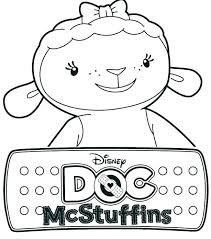 Free Printable Doc Mcstuffins Coloring Sheets Printable Doc Coloring