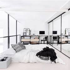 Simple Chic Minimalistic Bedroom Dream Goals Simple White Monochrome  Interior Style Dream Catcher Tribal Printed Pillow