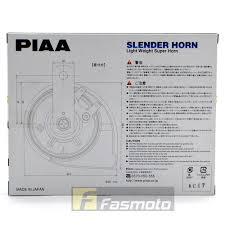 genuine piaa ho 12 dual tone slender ultra light twin horns 112db piaa ho 12 dual tone slender ultra light twin horns 112db 12v 400