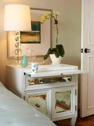 Mirrored Side Tables Bedroom Small Bed Side Table Chic Design Ideas Of Bedroom Lighting