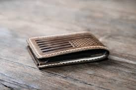 american flag bifold wallet home