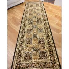 carpet runners set 3m rugs heritage 1999 black