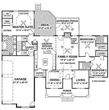Traditional Country Victorian Farmhouse House Plans  Home Country Floor Plans