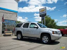 2010 Sheer Silver Metallic Chevrolet Tahoe Z71 4x4 #32268531 ...