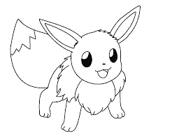 23 Eevee Coloring Pages Selection Free Coloring Pages