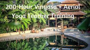 200 hour vinyasa aerial yoga teacher goa india lindsay nova
