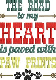 Image result for puppy paw prints on my heart