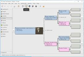 Library Of Michigan Pedigree Chart Features Gramps