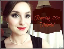 roaring 20s makeup tutorial