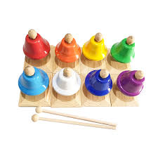 Move your mouse over image or click to enlarge. 8 Note Diatonic Hand Bells Sets 8pcs Percussion Handbell Desk Bells W 2 Mallets Kids Baby Early Education Musical Instrument Bells Chimes Aliexpress