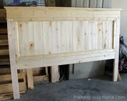DIY Farmhouse Headboard {how to} - The Turquoise Home
