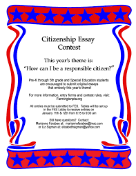 citizen essay good citizen essay