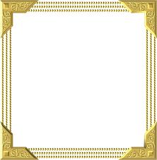 gold frame border square. Gold Frame Square Border Decoration Decor S