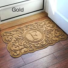monogram rugs for outside monogrammed rugs outdoor 4 monogram door mat full size of monogram rugs for outside