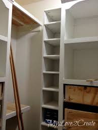 shoe shelf bench and floating shelves master closet makeover my love 2 create