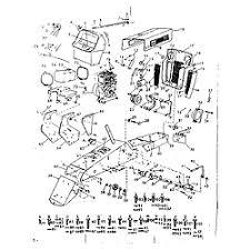 craftsman model 91725381 lawn tractor genuine parts engine