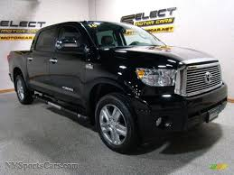 2010 Toyota Tundra Limited CrewMax 4x4 in Black photo #3 - 137552 ...