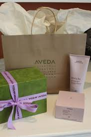 aveda gift bag and