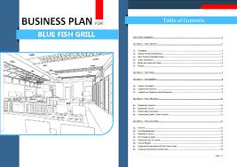 Restaurant Business Plan Template New Restaurant Business Plan Template Graphics Enhanced Version 22