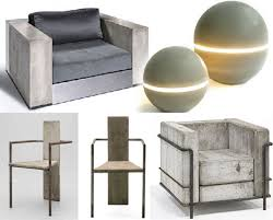 modern chair designs. Unique Chair Concreteandsteelmodernchairsa Throughout Modern Chair Designs